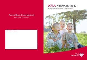 WALA Kinderapotheke - WALA Arzneimittel