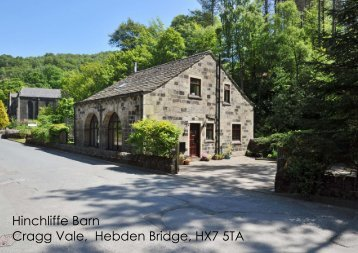 Hinchliffe Barn Cragg Vale, Hebden Bridge, HX7 5TA - Ryburne & Co