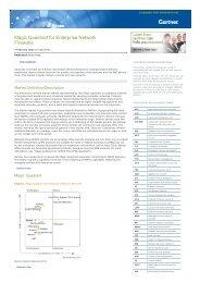 Magic Quadrant for Enterprise Network Firewalls - WIT