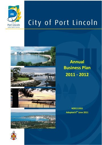 Annual Business Plan 2011 - 2012 - City of Port Lincoln - SA.Gov.au