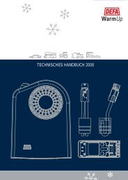 Technisches handbuch 2008 - Waeco.com