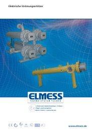 Datenblatt herunterladen - ELMESS -Thermosystemtechnik GmbH