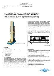 Elektriske traversmaskiner - Reiter-oft.de