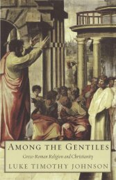 Among the Gentiles: Greco-Roman Religion and ... - Historia Antigua