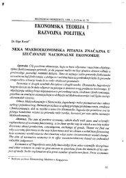 ekonomska teorija i razvojna politika - horizonti.ekfak.kg.ac.rs