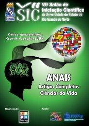 Anais VII SIC - UERN