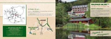 Angebote & Arrangements Angebote ... - Waldhaus am See