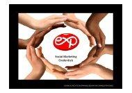 Social Marketing Credentials - Exp