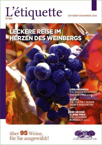 L'ätiquette - Club français du vin
