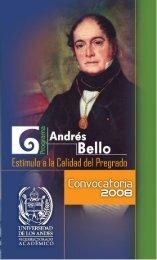 Andrés Bello - Facultad de Ciencias - ULA