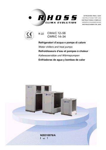 N28310076-v01 Manuale Istr. CWA-CWR_C 12-34 - Rhoss