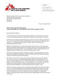 Bundesministerium für Land- und Forstwirtschaft, Umwelt und ...