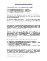 Protocolo de Monitoreo de Calidad de Agua - Ministerio de Energía ...