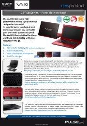 "13"" SB Series – Portable Notebook"
