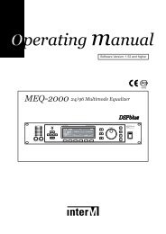 MEQ-2000 24/96 Multimode Equalizer DSP-blue - CIE-Group