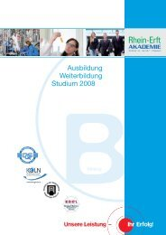 Rea Folder_Bildung_09_1 - Rhein-Erft-Akademie