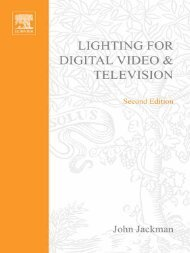 Lighting for Digital Video & Television - cursotecnicoav - home