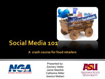 A crash course for food retailers - National Grocers Association