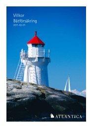 Villkor Båtförsäkring - Atlantica