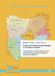 Kommunale Entwicklungsstrategien in der Region Dresden ...