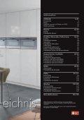 Kochfelder - V-ZUG Ltd - Seite 5