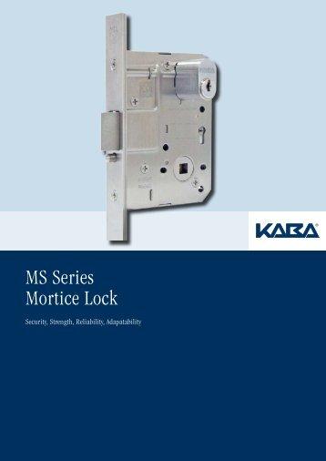 MS Series Mortice Lock
