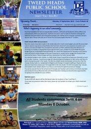 15 Newsletter Term 3 Week 10 17.09.12 Week 42 [pdf, 3 MB]