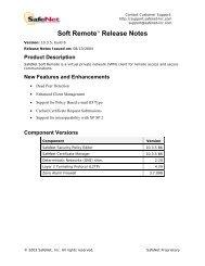 SafeNet High Assurance Remote, version 1.2.1B10, Customer ...