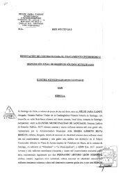 Contrato - Intranet Municipal - Municipalidad de santiago