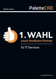 Flyer - Palette CAD's 1. Wahl - Hardware Partner hz IT -Services