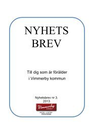 Nyhetsbrev nr 3, 2013 - Vimmerby Kommun