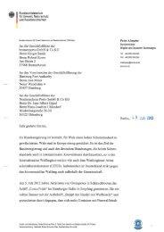 Brief an die deutschen Häfen (PDF barrierefrei ... - BMU - Bund.de