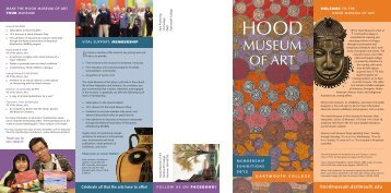 2012 - Hood Museum of Art - Dartmouth College