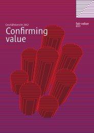 Confirming value - Fair Value REIT-AG