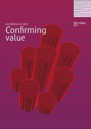 Confirming value - Fair Value REIT-AG