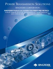 Ringfeder Brochure Separated - Maryland Metrics