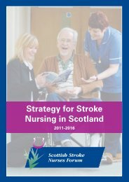 Strategy for Stroke Nursing in Scotland (2011 - 2016) - Chest Heart ...