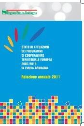 Relazione annuale 2011 - Fondi Europei 2007-2013