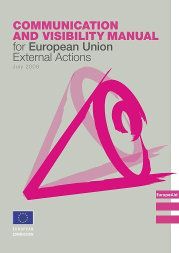 Communication and visibility manual for EU external actions