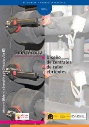 Guía técnica. Diseño de centrales de calor eficientes - Ministerio de ...
