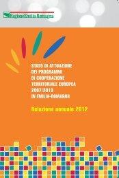 Relazione CTE 2012 - Fondi Europei 2007-2013