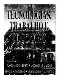 Tecnologias, Trabalho e Educação