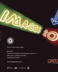Festival Catalogue (PDF) - Images Festival
