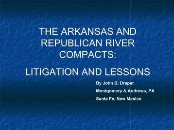 Arkansas and Republican River Basin