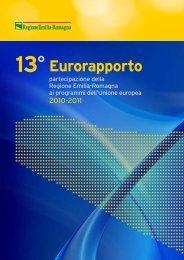 Tredicesimo Eurorapporto 2010-2011 - Fondi Europei 2007-2013