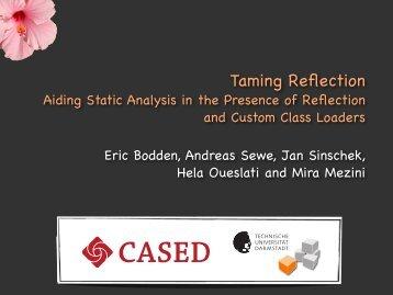 ICSE - TamiFlex.pdf - Eric Bodden