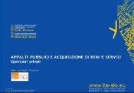 Programma del pomeriggio - Fondi Europei 2007-2013