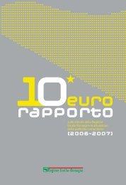 Decimo Eurorapporto - Fondi Europei 2007-2013