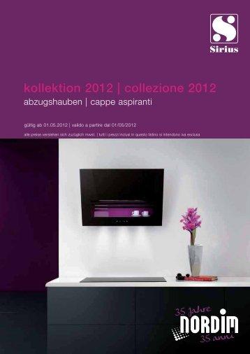 Download catalogo SIRIUS (pdf) - Tischlerei Gasser
