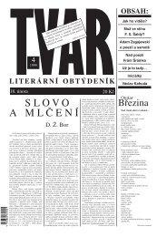 Tvar 4/1999